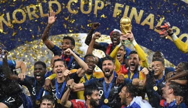Imágenes para la historia de la clausura del Mundial 2018