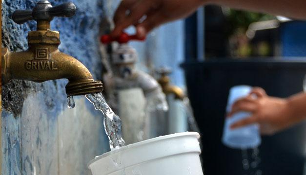 ANDA avisa de fallas en suministro de agua en zonas de San Salvador y La Libertad