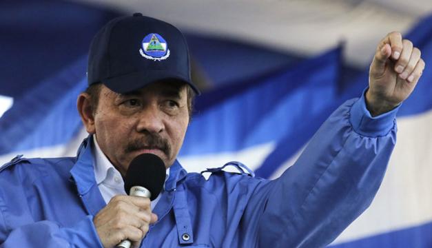 Marchan contra el presidente Daniel Ortega en Nicaragua