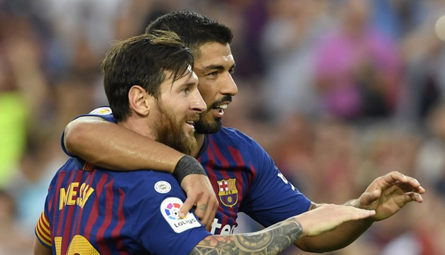 """Suárez cree que Messi merece """"ganar muchas más Champions"""""""