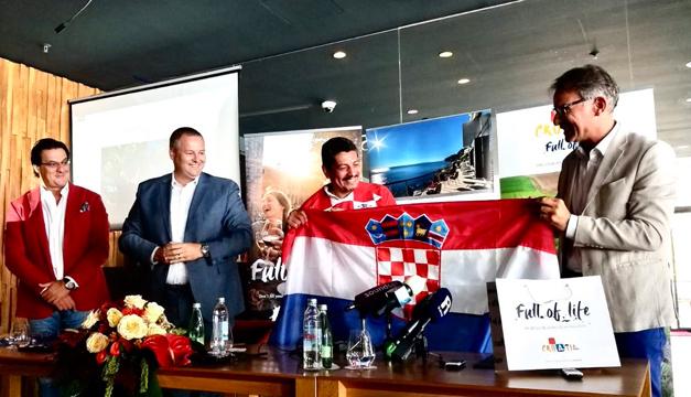 Yuri Cortez se convierte en el 10 de la selección croata
