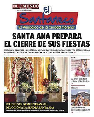 El Santaneco 24-07-18