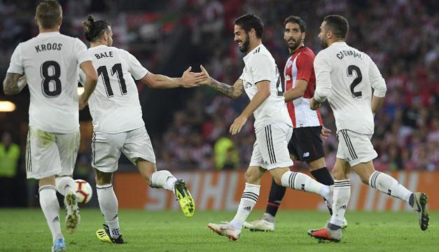 El Real Madrid pincha en Bilbao y deja líder liguero al Barcelona ... 712a28d3bf485
