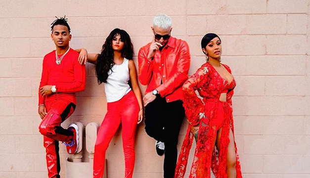 Regresa Selena Gomez a la música con Cardi B y Ozuna