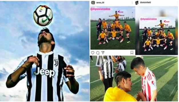 Un joven mexicano fingió jugar en la Juventus y engañó a muchos ... 48538e5842489