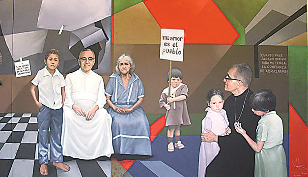 Monseñor Óscar Romero inspira las artes plásticas, el cine y la música