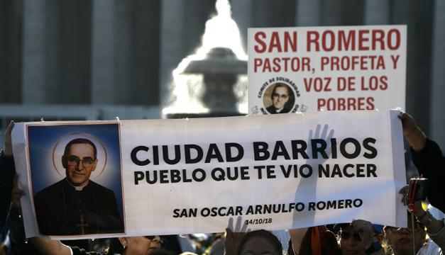"""""""Que San Óscar Romero interfiera para que cese la violencia en El Salvador"""", piden desde San Pedro"""