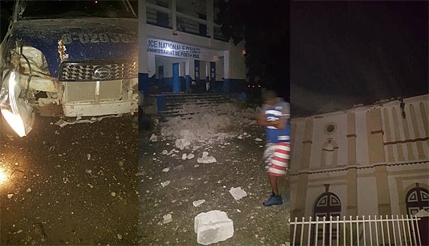Fuerte sismo sacudió a las costas de Haití
