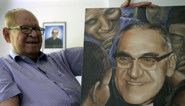 Cierran calles de centro histórico por canonización de Monseñor Romero