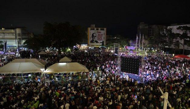 Su pueblo celebra su santidad en Centro Histórico