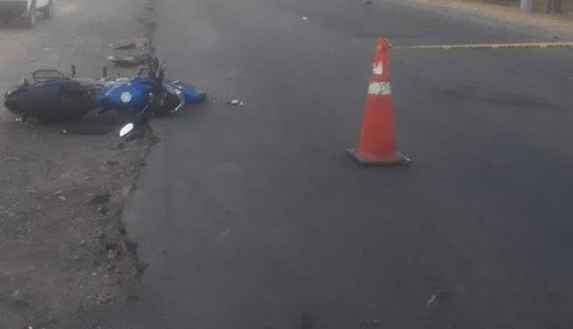 Fallece motociclista tras impactar con vehículo en la Troncal del Norte - Diario El Mundo
