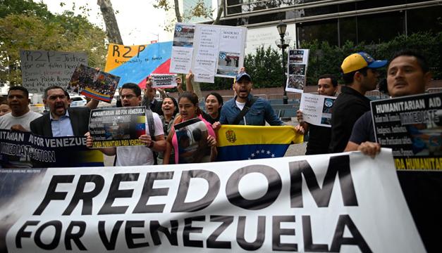 """EEUU advierte que continuará """"la presión"""" contra Venezuela para traer """"pacíficamente la democracia"""""""