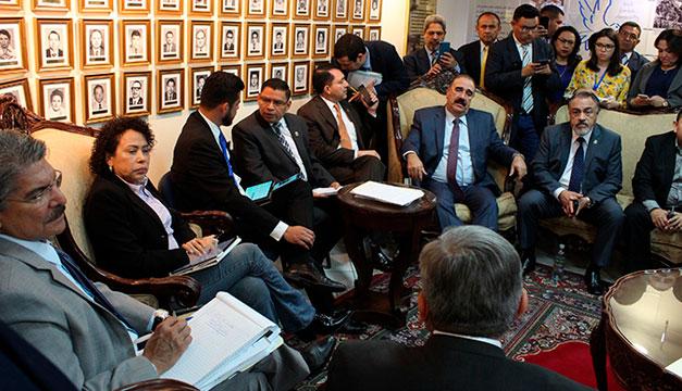 Acuerdo preliminar en la Asamblea para aprobar el presupuesto del 2020