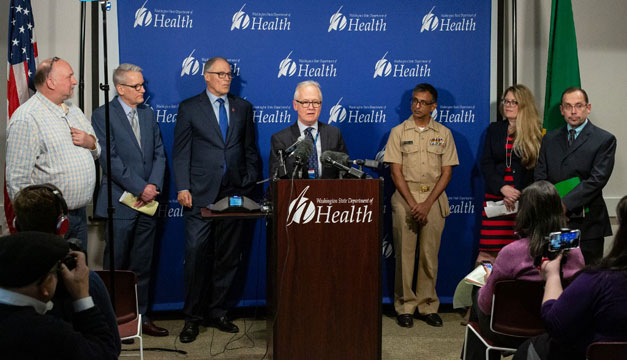 EEUU confirma segundo caso de coronavirus y 50 más sospechosos