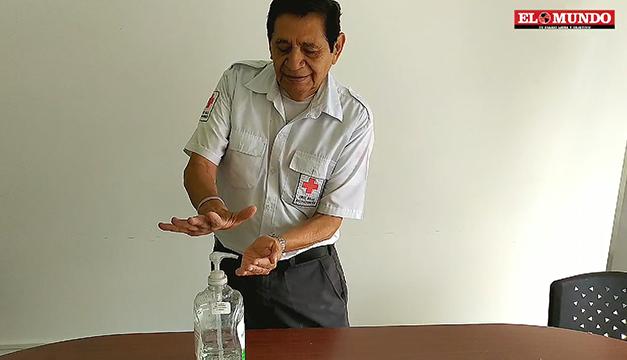 Coronavirus: uso correcto del alcohol gel