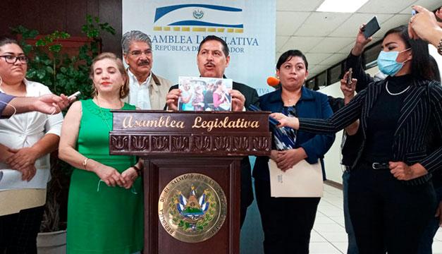 Arena y FMLN dice que Gobierno improvisa y rompe cordón sanitario