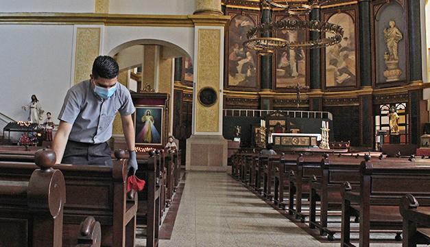Inicia 2da. fase de apertura de templos católicos al 50%