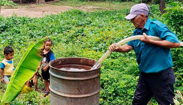 Un 12 % de la zona rural de Nejapa sin acceso a agua potable