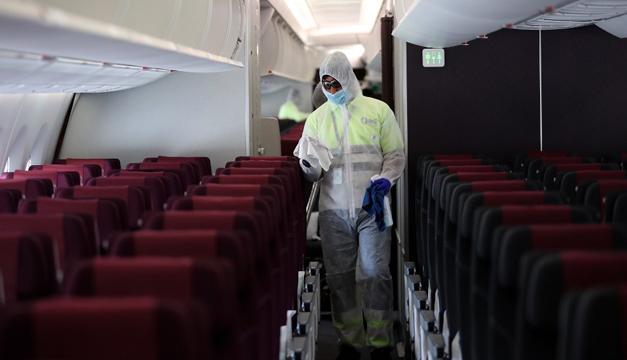 Número de pasajeros aéreos cayó un 60 % en 2020, según OACI