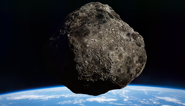 La NASA vigila cuatro asteroides que sobrevuelan la Tierra este fin de semana