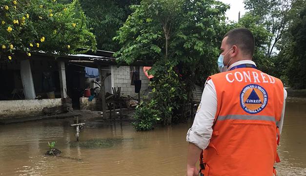 Lluvias dejan cinco muertos y medio millón de afectados en Guatemala