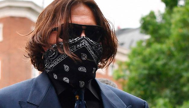 Johnny Depp afirma que estaba demasiado drogado para pegar a su ex