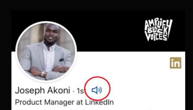 LinkedIn permite que los usuarios añadan audios para decir cómo se pronuncia su nombre