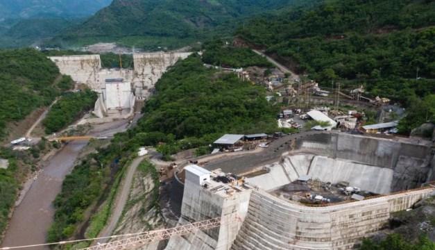 Obras en hidroeléctrica El Chaparral avanzaron 20 % en un año