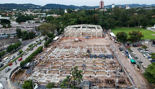 Avanzan obras en tercera fase de Hospital El Salvador