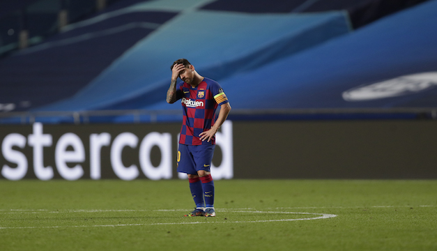 """Lionel Messi: """"Estoy un poco cansado de ser el problema de todo en el club"""""""