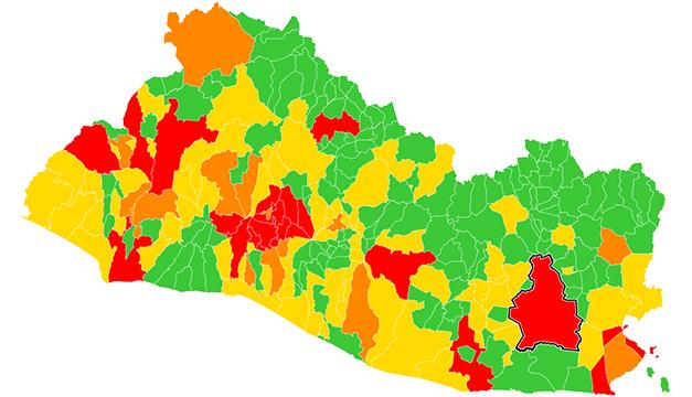 37 municipios tienen riesgo alto y muy alto de covid-19 según el Gobierno