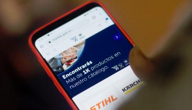 Gobierno de El Salvador lanza la tienda virtual Market SV