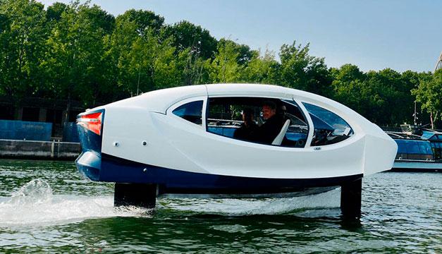 Los taxis que vuelan sobre el agua estarían listos para 2021