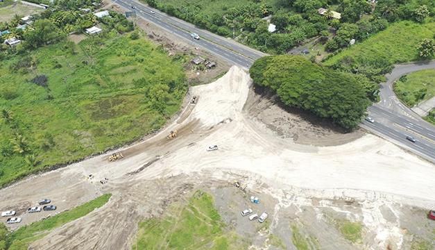 La construcción del periférico Claudia Lars lleva un avance del 17 %