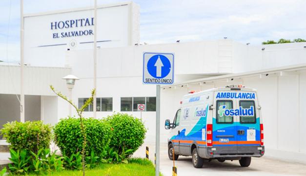 Hospital El Salvador recibe 15 pacientes con covid-19 del San Rafael
