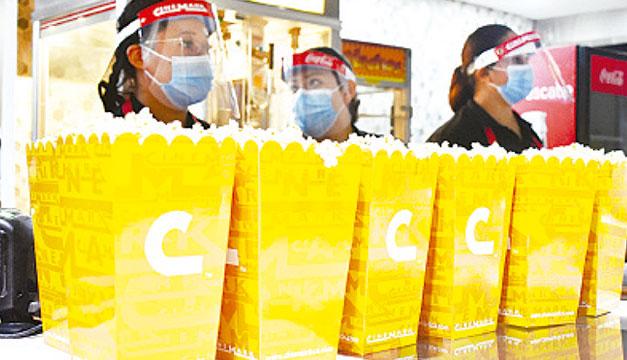 Las salas de Cinemark están listas para recibir nuevamente a los salvadoreños