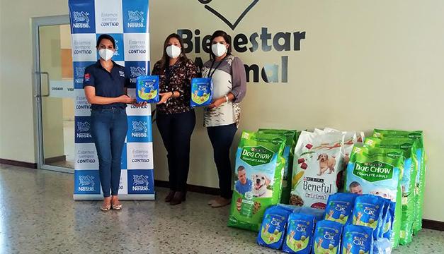 Nestlé Purina dona alimento para más de 5,000 mascotas en albergues