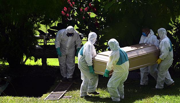 Diez personas mayores de 60 años fallecieron por covid-19