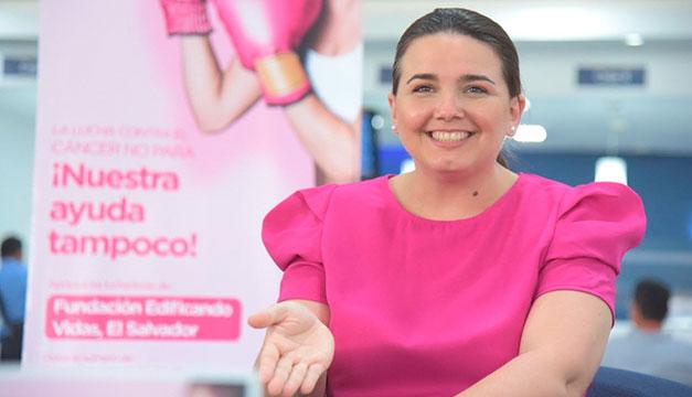 Banco Cuscatlán se une a la lucha contra el cáncer de mama