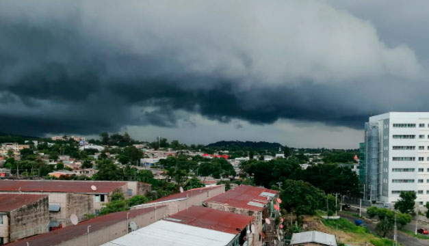 En esta zona se pronostican lluvias para este día según el MARN