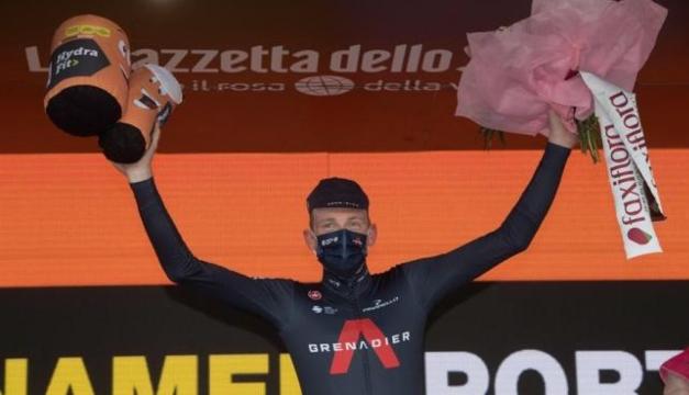 Tao Geoghegan conquista el Giro de Italia 2020