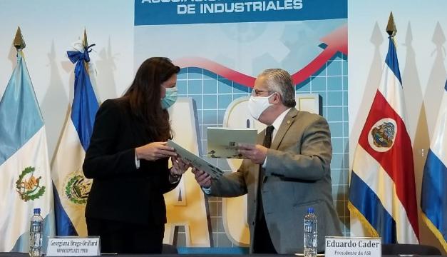 ASI firma acuerdo de cooperación con PNUD