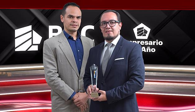 """BAC Credomatic entrega el reconocimiento """"Empresario del año 2020"""""""
