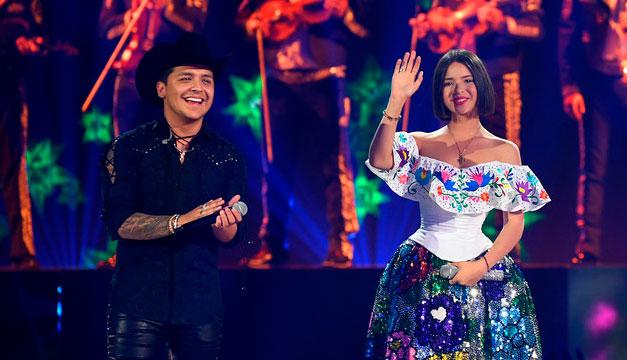 Christian Nodal y Ángela Aguilar lanzan nuevo tema
