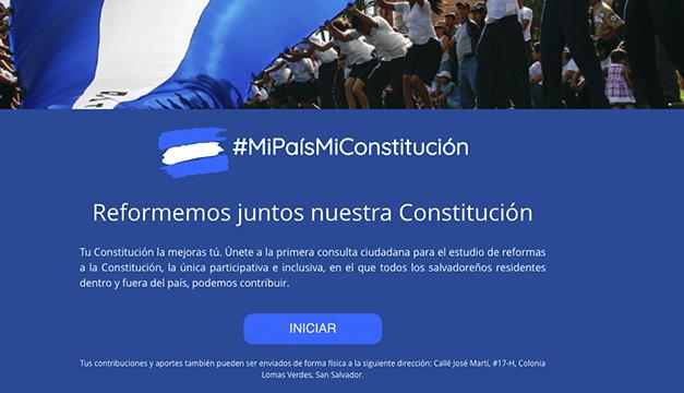 Abogados piden divulgar sin excepción las propuestas sobre la Constitución