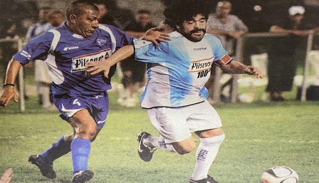Los días de Diego Maradona en San Salvador en 2006