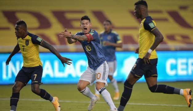 """Colombia sin """"orgullo ni honor"""" tras humillante goleada de Ecuador"""