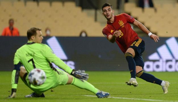 España golea 6-0 a Alemania y se mete en 'Final 4' de la Liga de Naciones