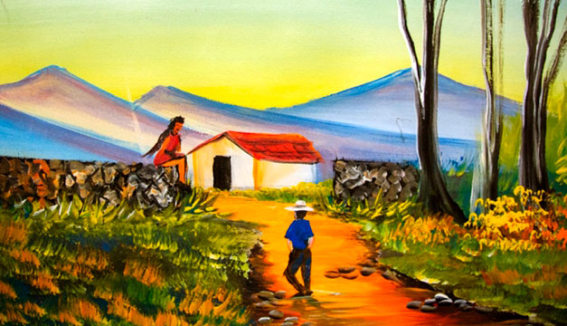 """Disfruta de las exposiciones de pintura """"De la Sombra a la Luz"""""""