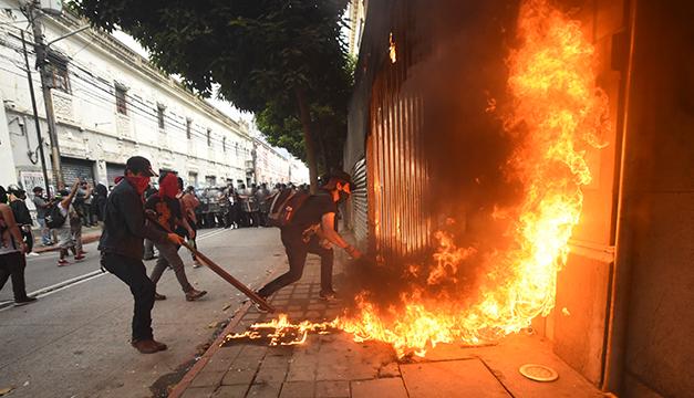 Guatemala, la crisis no resuelta con pronóstico de alargarse